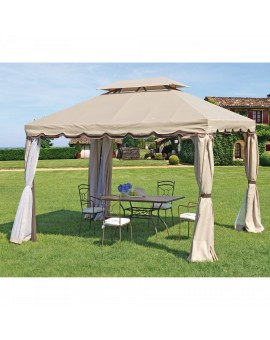 GAZEBO TEXAS CON TENDE 3X4 M