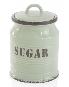 Barattolo Zucchero Ermetico Vintage Stoneware