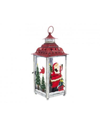 Lanterna festive babbo h30