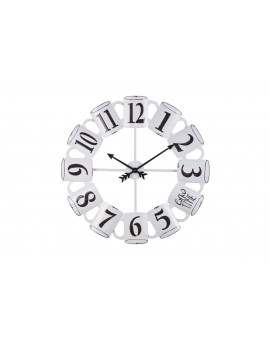 Orologio da Parete Ø68x5 cm in Acciaio Bizzotto Mug