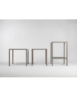 """Sistema di Rialzo per tavolo """"Nardi Kit Cube High"""" in alluminio per bar e ristoranti"""